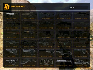Menu Buy dengan gaya Inventory